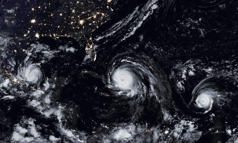 Los huracanes serán más intensos con el cambio climático