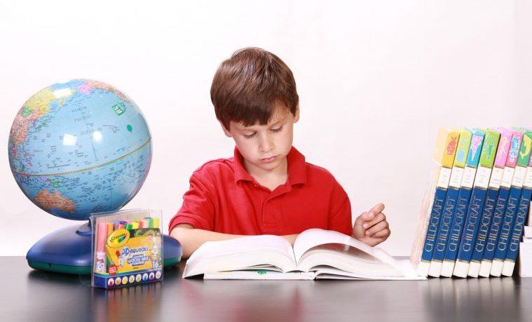 colegio niños aprendizaje lectura