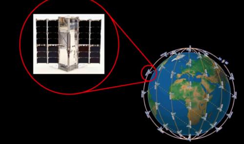 Un CubeSat Mide la Energía Saliente de la Tierra
