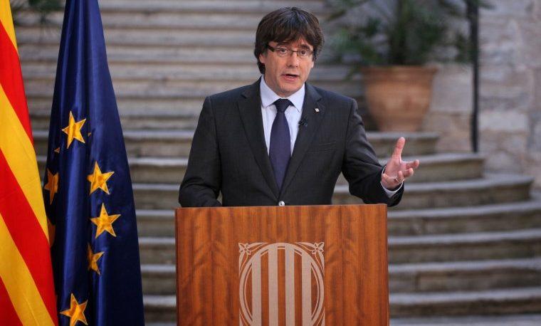 Puigdemont Cataluña España Barcelona