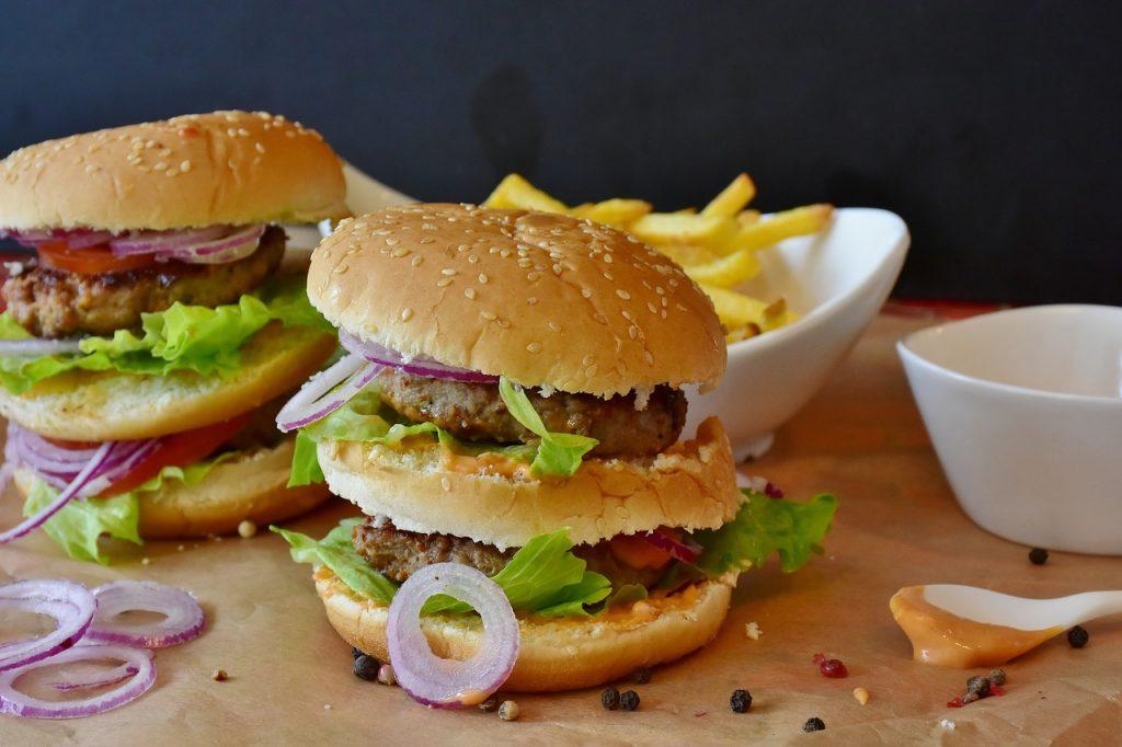 sobrepeso hamburguesa fast food obesidad