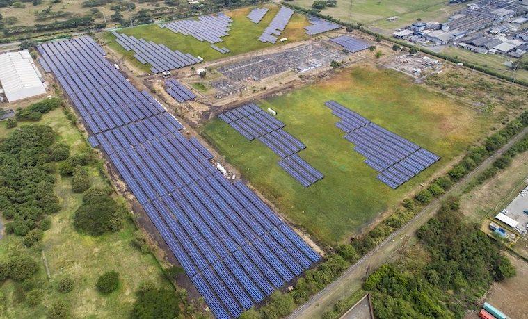 Primera planta de energía fotovoltaica en Colombia