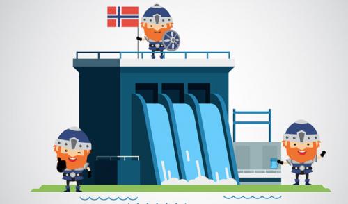 El manejo del agua: la clave para el éxito en la generación de hidroelectricidad en Noruega