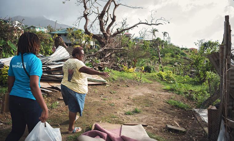 Por la recuperación de las mujeres agricultoras en Dominica