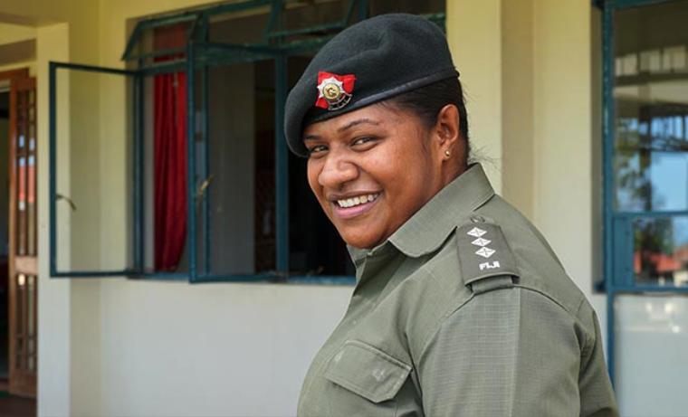Preparadas para el despliegue del mantenimiento de la paz con una perspectiva de género
