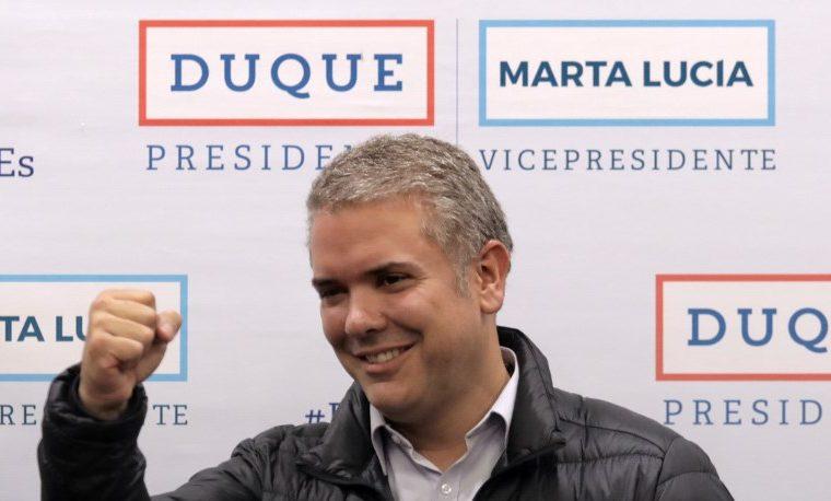Los miedos que deberá combatir Duque tras triunfo de la derecha en Colombia