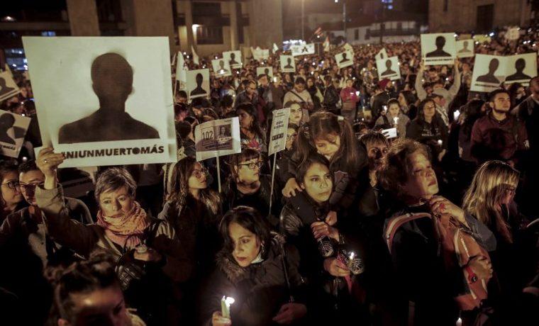 líderes sociales Colombia #NiUnMuertoMas