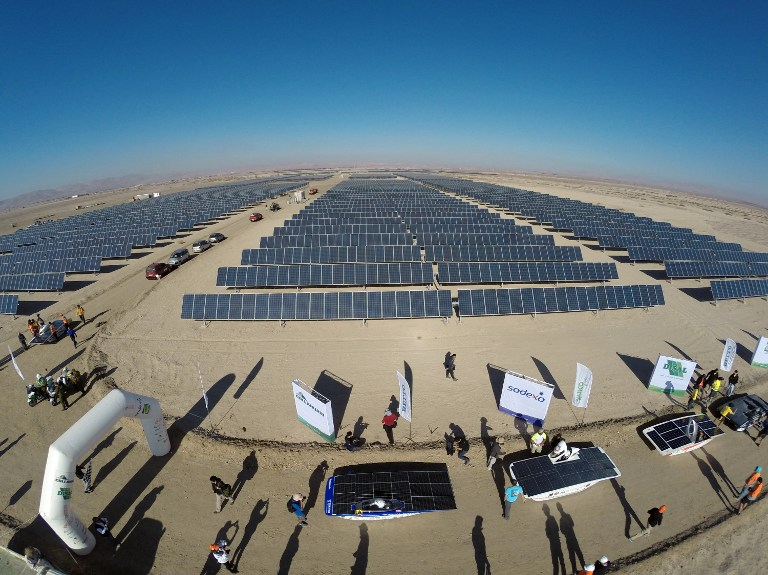 CHILE-ENERGY-SOLAR-CARS-RACE-ATACAMA