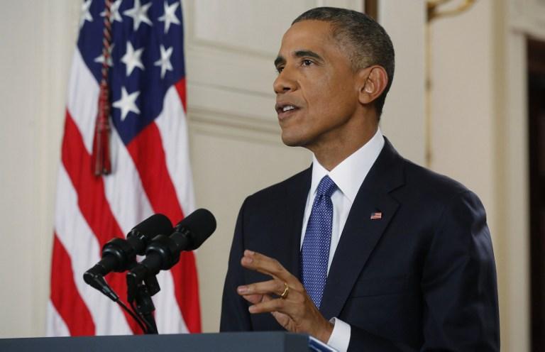 """No hay """"mayor amenaza"""" que el cambio climático, asegura Obama"""