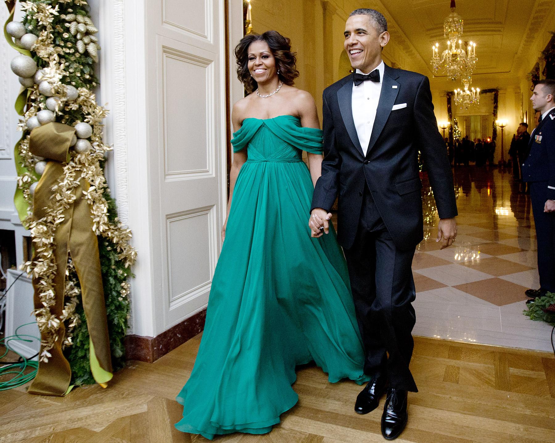 Los Obama cuentan que los han confundido con camareros y choferes