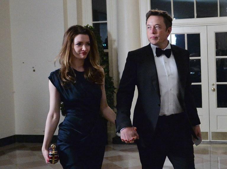 El fundador de PayPal y SpaceX se divorcia de una actriz británica