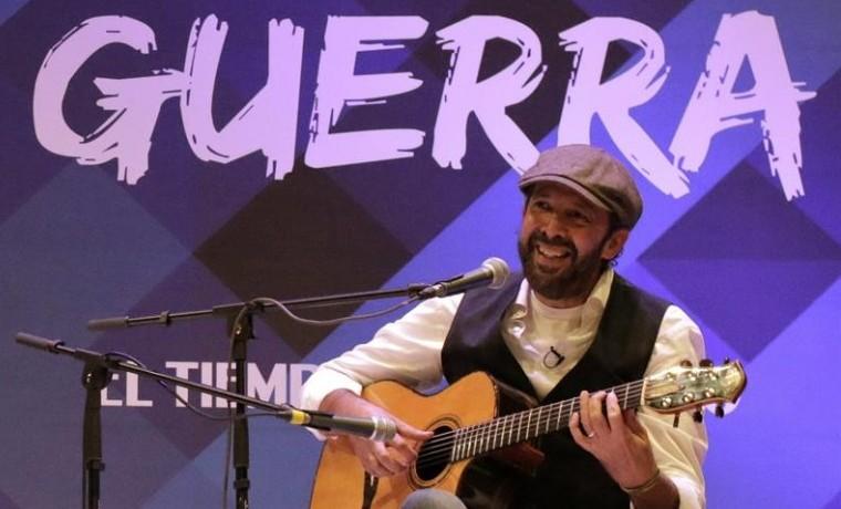 El dominicano Juan Luis Guerra inauguró el décimo Hay Festival de Cartagena