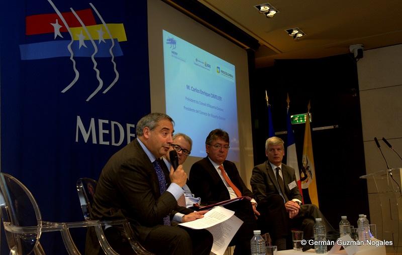 Presidente de Alquería invitó a las empresas francesas a mirar a Colombia como destino de inversión