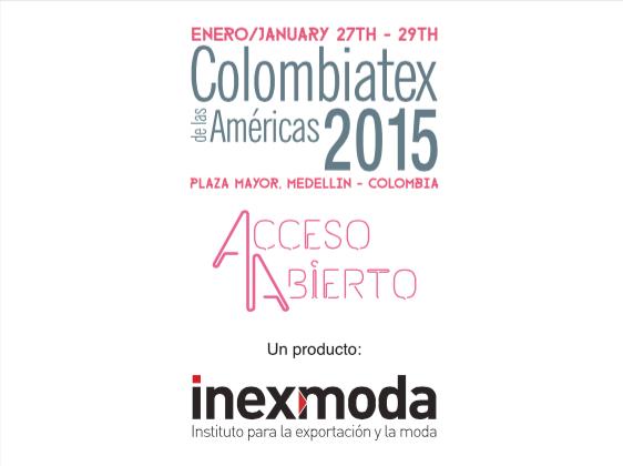 Las marcas tienen su propia puesta en escena en Colombiatex de las Américas, Medellín