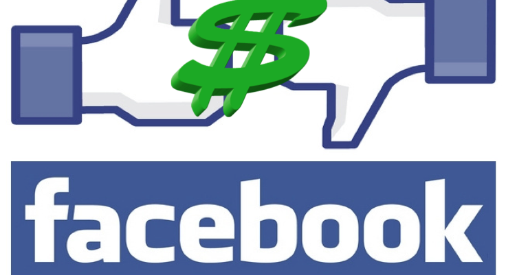 Facebook dollar sign