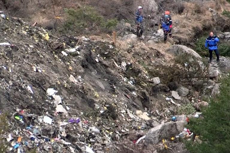 Detalles de la caída del avión de Germanwings en los Alpes franceses