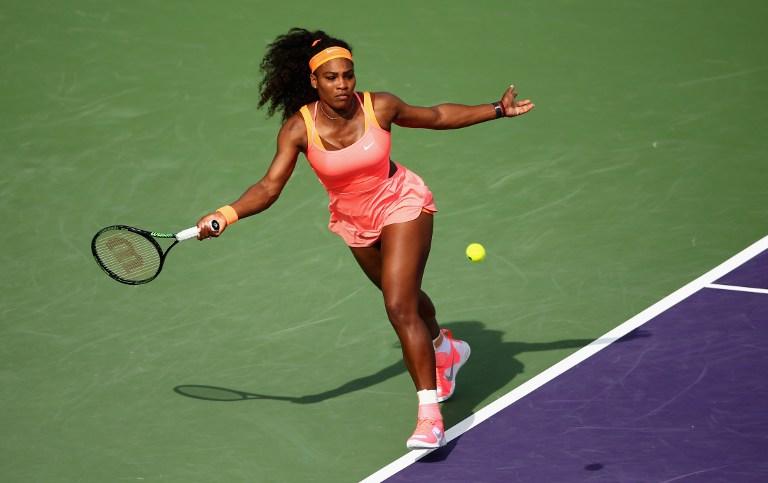 Serena, el colombiano Falla, y Ferrer alegran el sábado en Miami
