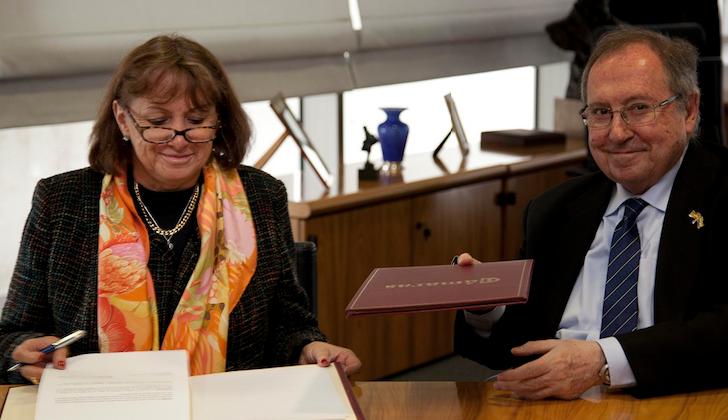 La Cámara de Comercio de España y la de Bogotá firman acuerdo