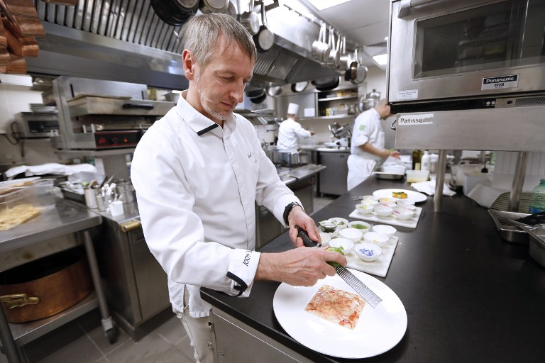 Paolo Sari, el único chef certificado 100% bio