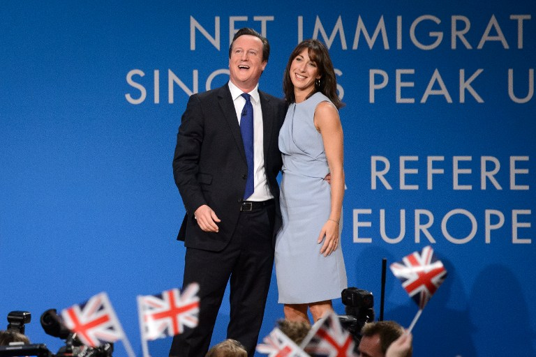 David Cameron, el político tranquilo
