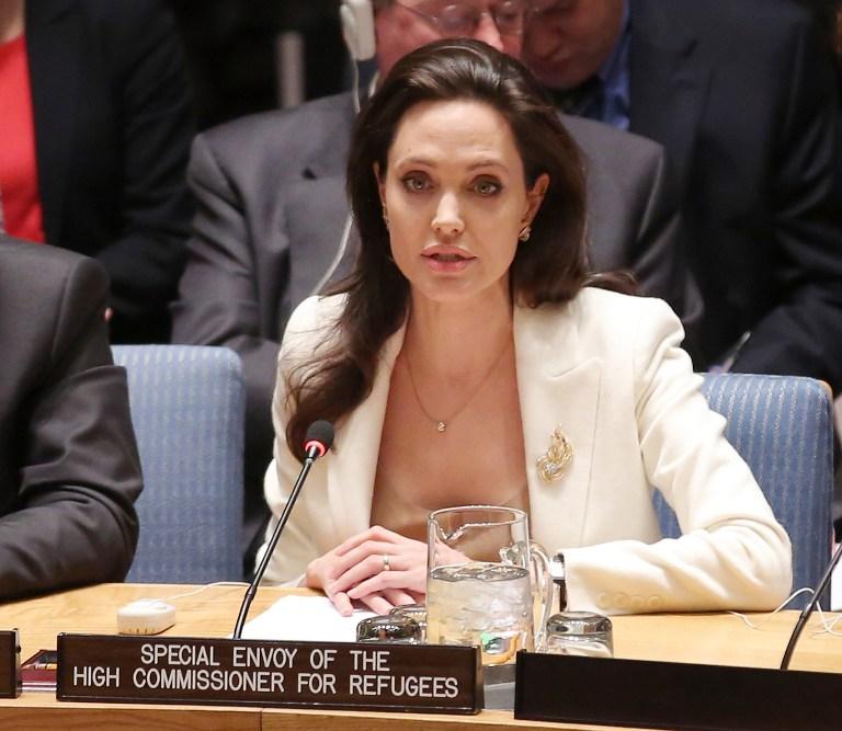 Angelina Jolie critica impotencia de la ONU para poner fin al conflicto en Siria