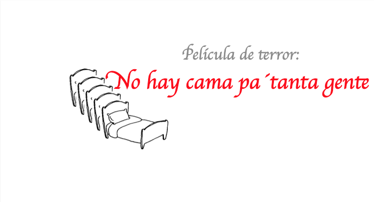 No hay cama pa´tanta gente