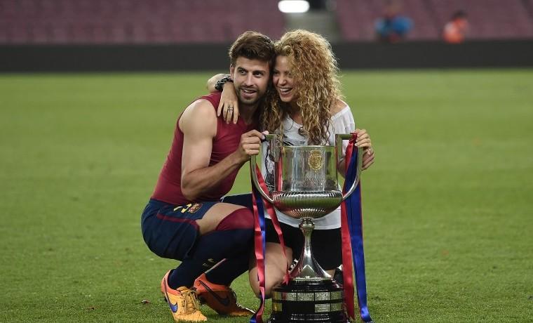 Shakira celebra: Barcelona gana la Copa del Rey