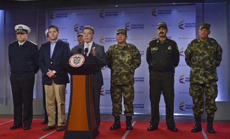 Estaremos preparados para enfrentar represalias de las Farc, Santos
