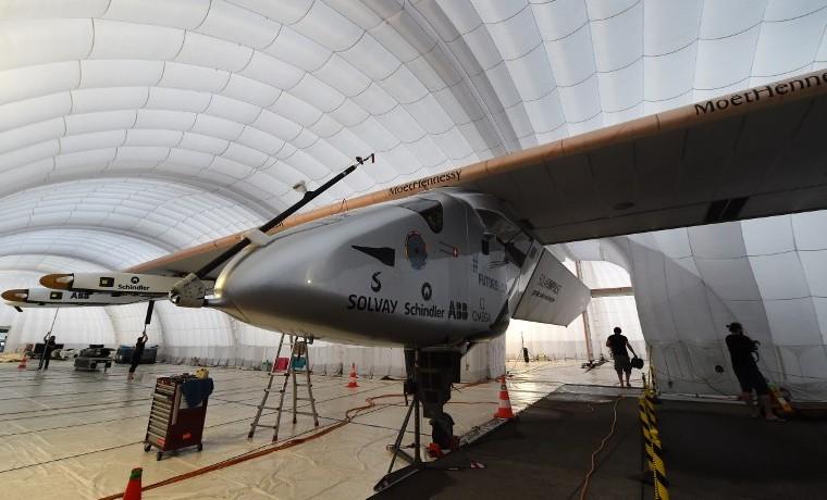 El Solar Impulse despegará de Japón el miércoles para seguir su vuelta al mundo