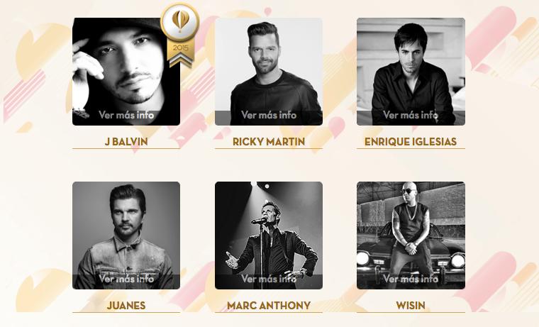 J Balvin, Juanes y Juan Luis Guerra, triunfan en los Heat Latin Music Awards