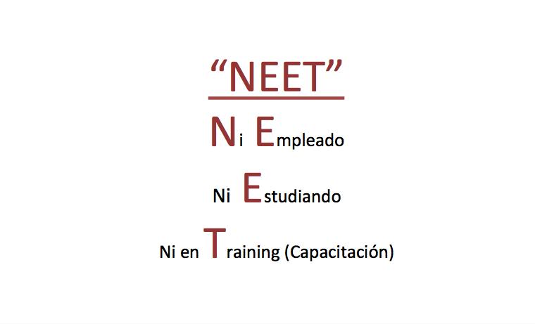 La situación de los NEETs