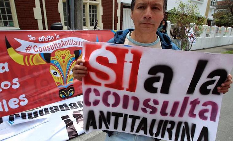 Concejo de Bogotá aprueba preguntar a sus ciudadanos si están de acuerdo con tauromaquia