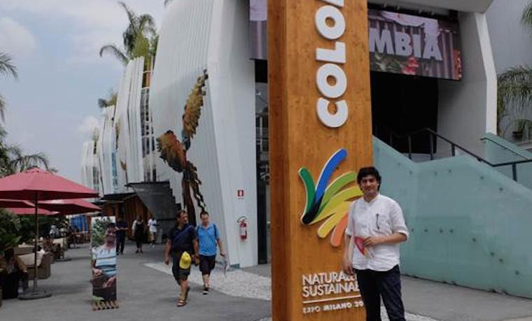 Felipe Arturo, diseñador colombiano, escogido por Illy para plasmar su arte en Expo Milán