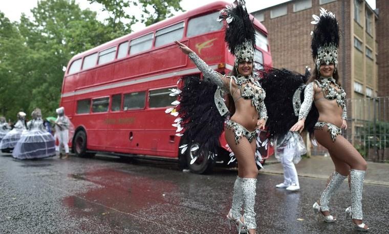 El colorido carnaval de Notting Hill arranca en Londres
