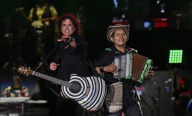 Carlos Vives hizo vibrar a Bogotá en megaconcierto
