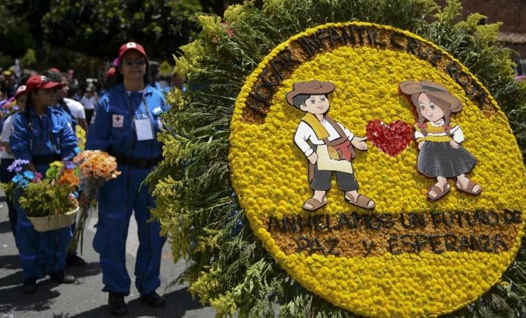 La Feria de las Flores de Medellín en imágenes