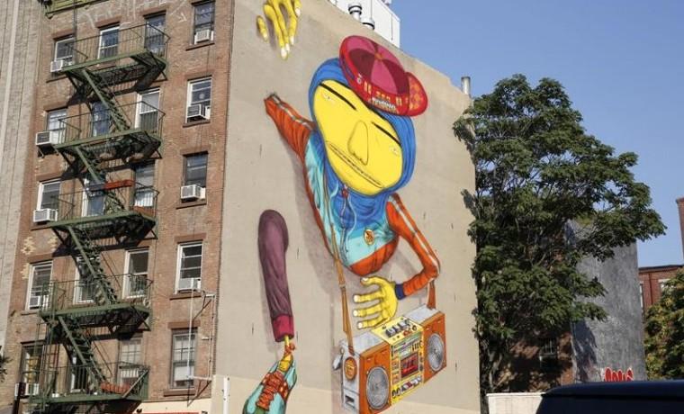 Arte callejero en Nueva York.