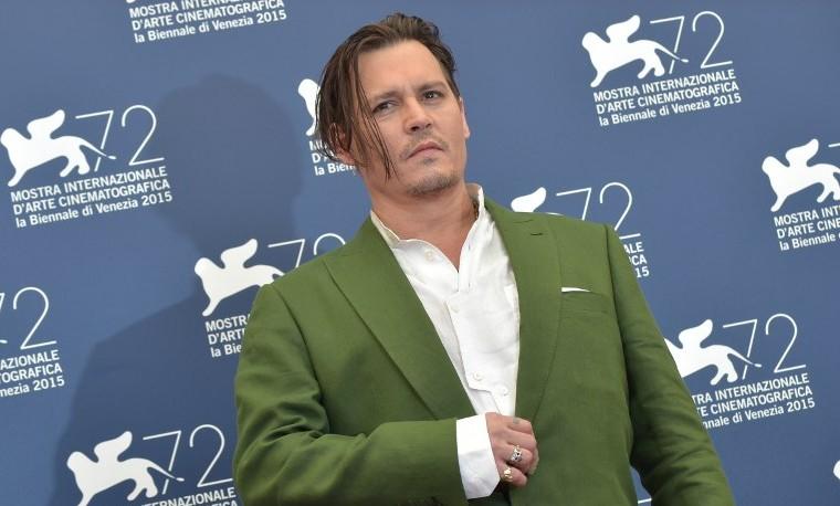 El día de Johnny Depp en el Festival de Venecia