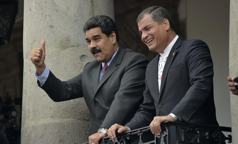 """Maduro plantea """"acuerdo de paz"""" a Colombia antes de cita con Santos en Quito"""