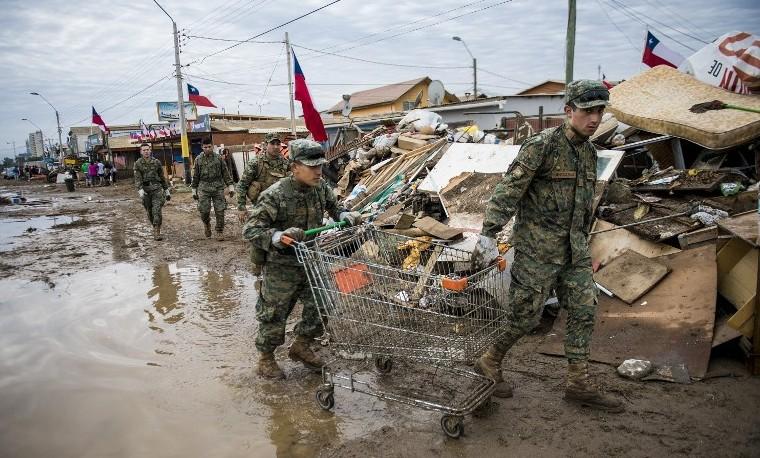 Los países pequeños son más vulnerables a desastres climáticos
