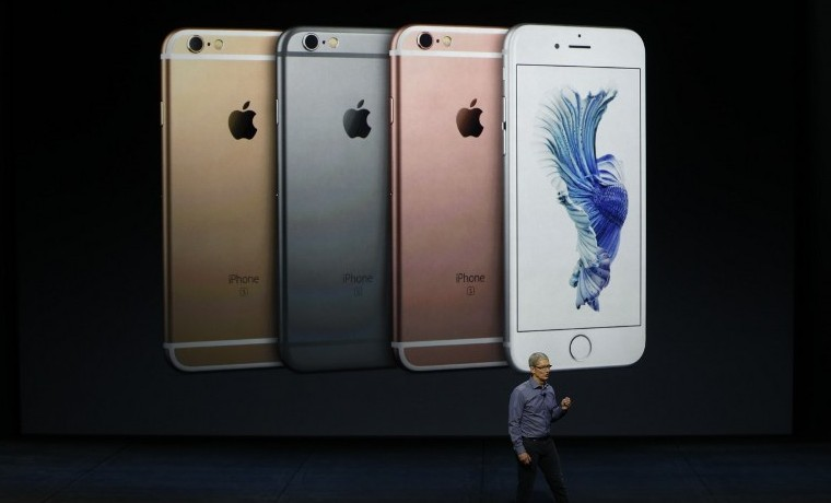 Apple bate récords con nuevos iPhones 6S: 13 millones vendidos el fin de semana