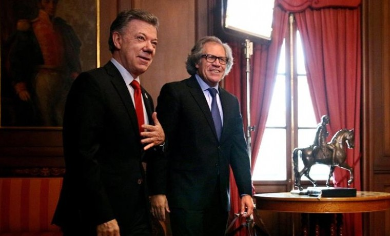 """Almagro, Secretario general de la OEA destaca """"madurez democrática"""" de Latinoamérica"""