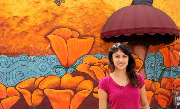 Kristy Sandoval reivindica en murales los derechos de los inmigrantes
