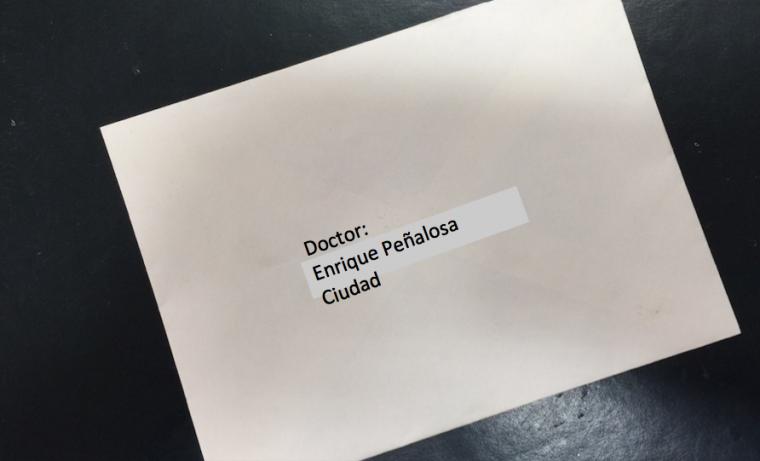 Carta Urgente a Enrique Peñalosa