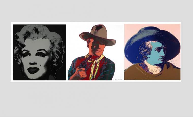Salen a subasta en Londres 83 serigrafías de Andy Warhol
