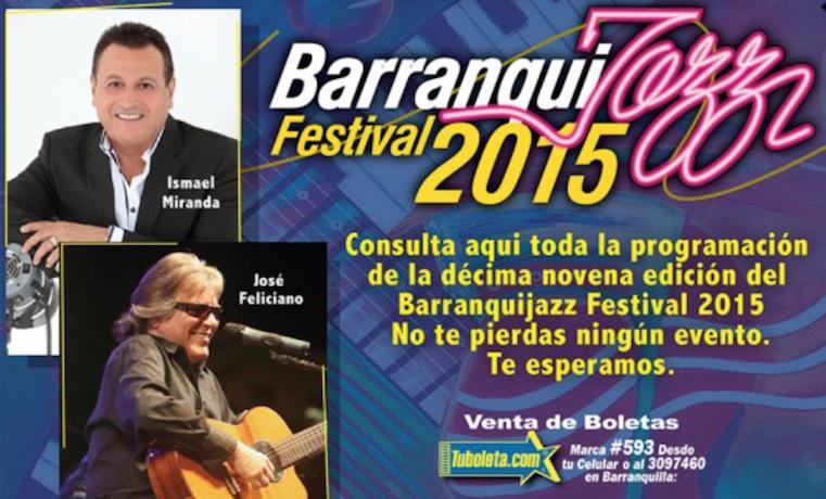 Artistas de nueve países asistirán al festival Barranquijazz en Colombia