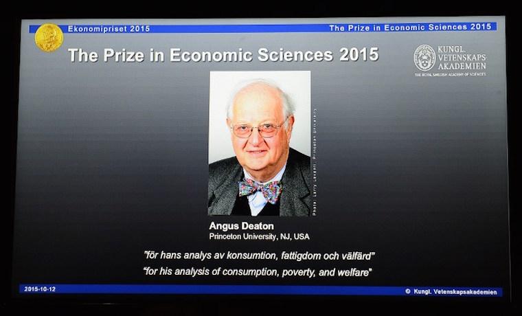 Angus Deaton, nobel de Economía por sus estudios sobre consumo y pobreza