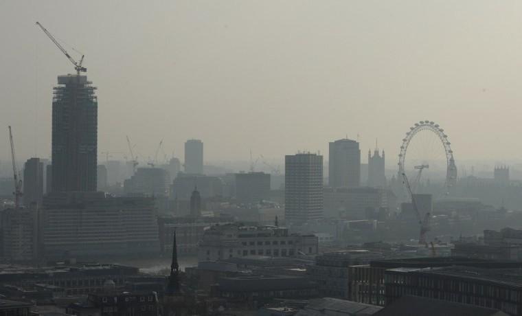Londres con alto nivel de contaminación por culpa del diésel