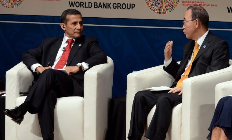 Ban Ki-moon promete eliminar la pobreza extrema del mundo para 2030