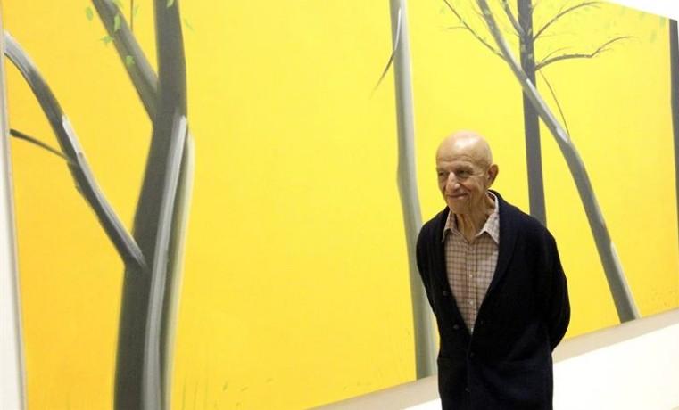 Los paisajes de Alex Katz, su obra más desconocida, en el Guggenheim Bilbao